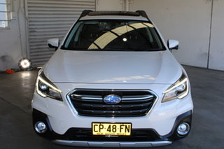 2018 Subaru Outback B6A MY18 2.0D CVT AWD Premium White 7 Speed Constant Variable Wagon.