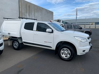 2016 Holden Colorado RG MY16 LS Crew Cab White 6 Speed Sports Automatic Cab Chassis.