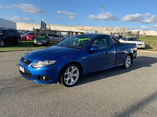2012 Ford Falcon FG Upgrade XR6 (LPi) Blue 6 Speed Automatic Utility.
