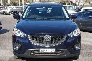 2012 Mazda CX-5 KE1071 Maxx SKYACTIV-Drive AWD Sport Blue 6 Speed Sports Automatic Wagon.