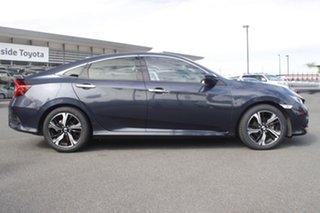2016 Honda Civic 10th Gen MY16 RS Cosmic Blue 1 Speed Constant Variable Sedan.
