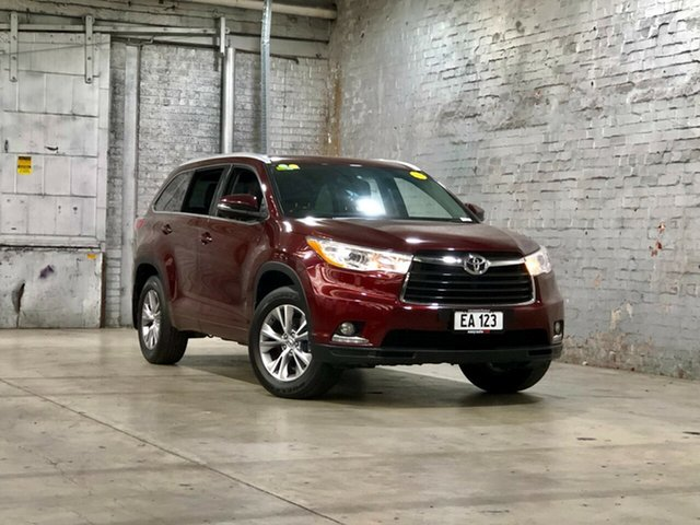 Used Toyota Kluger GSU50R GXL 2WD Mile End South, 2015 Toyota Kluger GSU50R GXL 2WD Maroon 6 Speed Sports Automatic Wagon