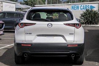 2021 Mazda CX-30 DM4WLA G25 SKYACTIV-Drive i-ACTIV AWD Astina White 6 Speed Sports Automatic Wagon.