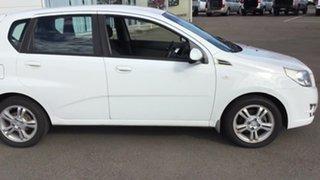 2011 Holden Barina TK MY11 White 5 Speed Manual Hatchback.