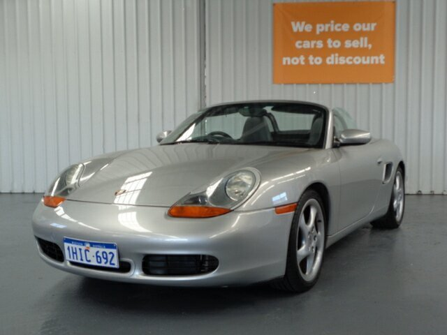 Used Porsche Boxster 986 MY00 S Rockingham, 1999 Porsche Boxster 986 MY00 S Silver 5 Speed Sports Automatic Convertible