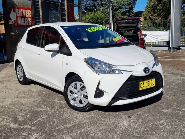 Used Toyota Yaris NCP130R Ascent Hornsby, 2019 Toyota Yaris NCP130R Ascent White 4 Speed Automatic Hatchback