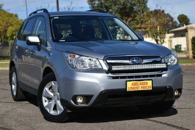 Used Subaru Forester S4 MY15 2.0D-L CVT AWD Enfield, 2015 Subaru Forester S4 MY15 2.0D-L CVT AWD Silver 7 Speed Constant Variable Wagon