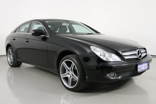 2010 Mercedes-Benz CLS350 219 08 Upgrade Black 7 Speed Automatic G-Tronic Coupe.