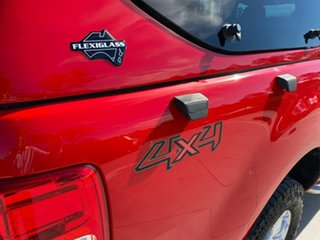 2013 Ford Ranger PX XLS Double Cab Red 6 Speed Manual Utility