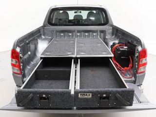 2018 Mitsubishi Triton MQ MY18 GLX Plus (4x4) Grey 6 Speed Manual Dual Cab Utility