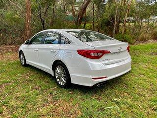 2016 Hyundai Sonata LF3 MY17 Active Ice White Pearl/char 6 Speed Sports Automatic Sedan.