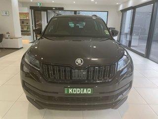 2021 Skoda Kodiaq NS MY21 132TSI DSG Sportline Black 7 Speed Sports Automatic Dual Clutch Wagon.