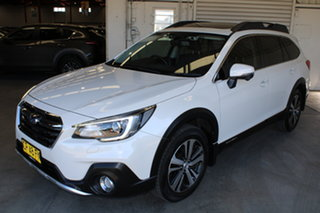 2018 Subaru Outback B6A MY18 2.0D CVT AWD Premium White 7 Speed Constant Variable Wagon
