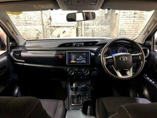 2015 Toyota Hilux GUN136R SR Double Cab 4x2 Hi-Rider White 6 Speed Sports Automatic Utility