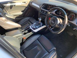 2014 Audi A4 B8 8K MY15 S Line S Tronic Quattro White 7 Speed Sports Automatic Dual Clutch Sedan