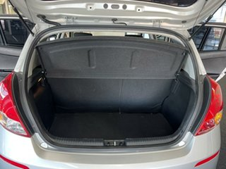 2014 Hyundai i20 PB MY14 Active Silver 6 Speed Manual Hatchback
