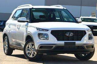 2020 Hyundai Venue QX.V3 MY21 White 6 Speed Automatic Wagon.