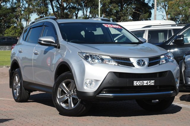 Pre-Owned Toyota RAV4 ZSA42R MY14 GXL 2WD Warwick Farm, 2015 Toyota RAV4 ZSA42R MY14 GXL 2WD Silver 7 Speed Constant Variable SUV