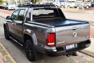 2020 Volkswagen Amarok 2H MY20 TDI580 4MOTION Perm Highline Black Indium Grey 8 Speed Automatic.