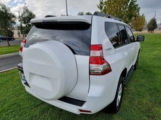 2016 Toyota Landcruiser Prado GDJ150R GXL Pearl White 6 Speed Sports Automatic Wagon.