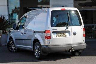 2007 Volkswagen Caddy 2KN SWB Silver 5 Speed Manual Van.