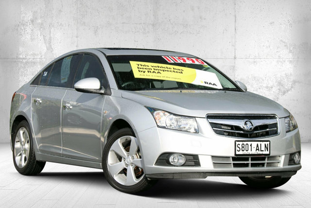 Used Holden Cruze JG CDX Valley View, 2011 Holden Cruze JG CDX Nitrate Silver 6 Speed Sports Automatic Sedan