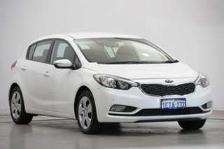 2015 Kia Cerato YD MY15 S Snow White Pearl 6 Speed Sports Automatic Hatchback
