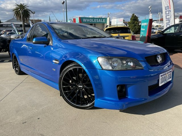 Used Holden Commodore VE MY09.5 SS Victoria Park, 2008 Holden Commodore VE MY09.5 SS Blue 6 Speed Manual Utility