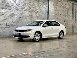 2013 Volkswagen Jetta 1B MY13.5 118TSI DSG White 7 Speed Sports Automatic Dual Clutch Sedan.