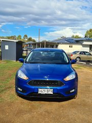 2017 Ford Focus LZ Trend Blue 6 Speed Automatic Hatchback.