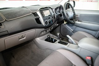 2008 Toyota Hilux KUN26R 08 Upgrade SR5 (4x4) Dark Grey Mica 4 Speed Automatic Dual Cab Pick-up