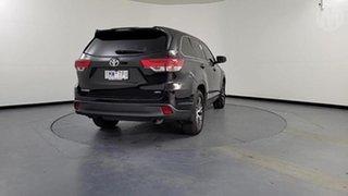 2018 Toyota Kluger GSU55R GX (4x4) Black 8 Speed Automatic Wagon