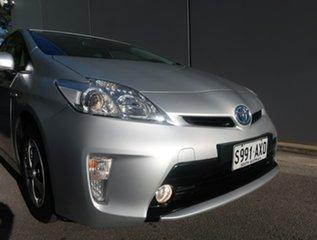2013 Toyota Prius ZVW30R MY12 Silver 1 Speed Constant Variable Liftback Hybrid