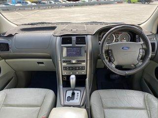 2005 Ford Territory SX Ghia (RWD) Silver 4 Speed Auto Seq Sportshift Wagon