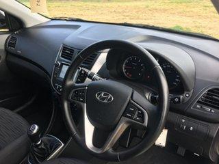 2017 Hyundai Accent RB4 Active Silver Manual