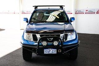 2013 Nissan Navara D40 MY12 ST (4x4) 5 Speed Automatic Dual Cab Pick-up.