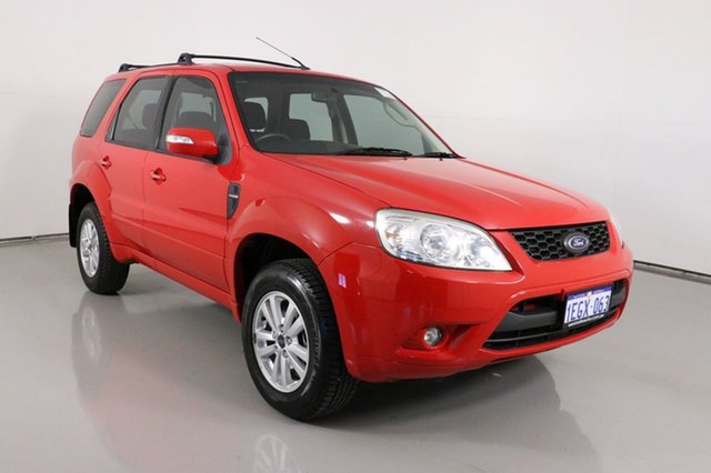 Used Ford Escape ZD Bentley, 2011 Ford Escape ZD Red 4 Speed Automatic SUV
