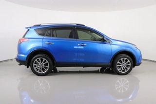2016 Toyota RAV4 ASA44R MY16 Cruiser (4x4) Blue 6 Speed Automatic Wagon