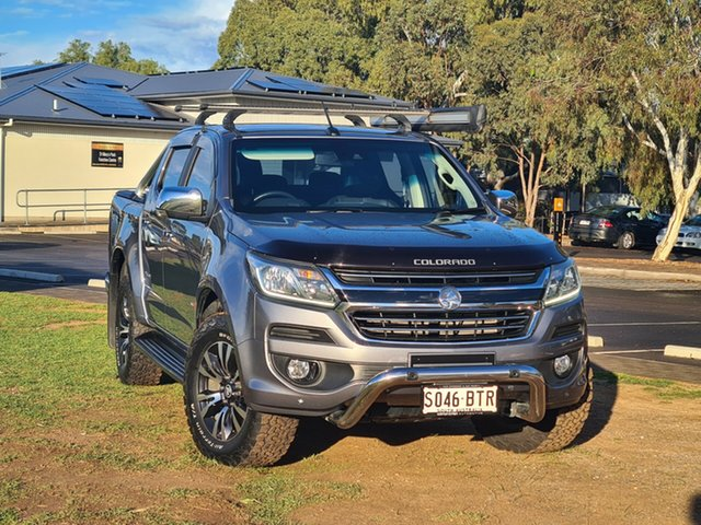 Used Holden Colorado RG MY18 Storm Pickup Crew Cab St Marys, 2017 Holden Colorado RG MY18 Storm Pickup Crew Cab Grey 6 Speed Sports Automatic Utility