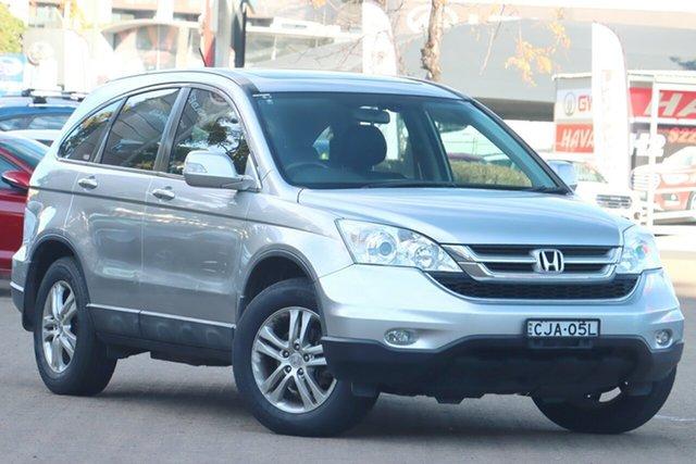 Used Honda CR-V RE MY2011 Luxury 4WD Zetland, 2012 Honda CR-V RE MY2011 Luxury 4WD Silver 5 Speed Automatic Wagon