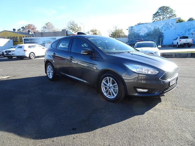 Used Ford Focus LZ Trend Nowra, 2015 Ford Focus LZ Trend Magnetic 6 Speed Automatic Hatchback