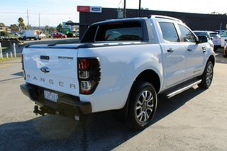 2018 Ford Ranger PX MkII 2018.00MY Wildtrak Double Cab White 6 Speed Manual Utility