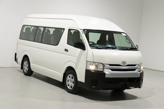 2017 Toyota HiAce KDH223R MY16 Commuter White 4 Speed Automatic Bus
