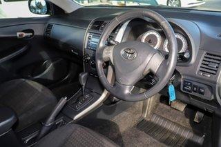 2009 Toyota Corolla ZRE152R Ascent White 4 Speed Automatic Sedan