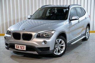 2014 BMW X1 E84 MY0314 sDrive18d Silver 8 Speed Sports Automatic Wagon.