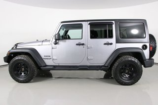 2014 Jeep Wrangler Unlimited JK MY13 Sport (4x4) Silver 6 Speed Manual Softtop