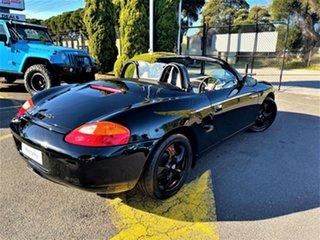 2000 Porsche Boxster Black 5 Speed Sports Automatic Convertible.
