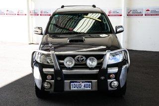 2008 Toyota Hilux KUN26R 08 Upgrade SR5 (4x4) Dark Grey Mica 4 Speed Automatic Dual Cab Pick-up.