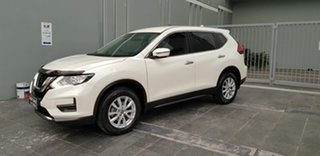 2018 Nissan X-Trail T32 Series 2 ST (2WD) White Continuous Variable Wagon.