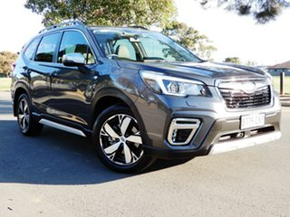 2019 Subaru Forester S5 MY20 2.5i-S CVT AWD Magnetite Grey/leath 7 Speed Constant Variable Wagon.